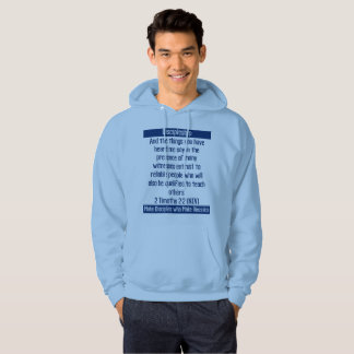 Discipleship 2 Timothy 2:2 Make Disciples Hoodie