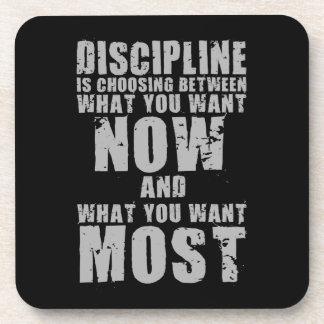 DISCIPLINE - Motivational Words Coaster