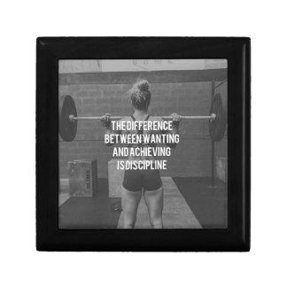 Discipline - Wanting vs Achieving, Women's Fitness Gift Box