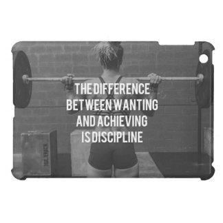 Discipline - Wanting vs Achieving, Women's Fitness iPad Mini Case