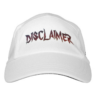 """""""Disclaimer of Opinion"""" Headsweats Hat"""