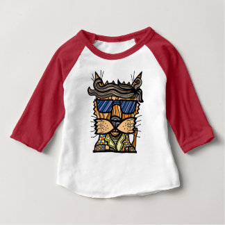 """Disco"" Baby 3/4 Raglan T-Shirt"
