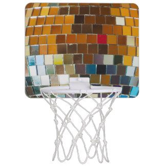 Disco Ball Basketball Hoop