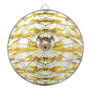 Disco Ball Bee Hive Pattern Dartboard