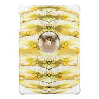Disco Ball Bee Hive Pattern iPad Mini Case