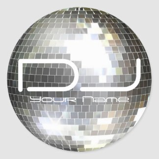 Disco Ball DJ Sticker