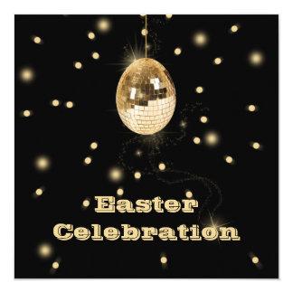 Disco Ball Easter Egg Party Celebration Invitation