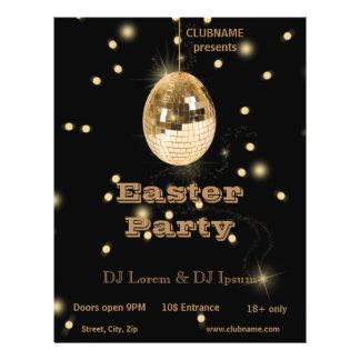 Disco Ball Easter Egg - Party Flyer