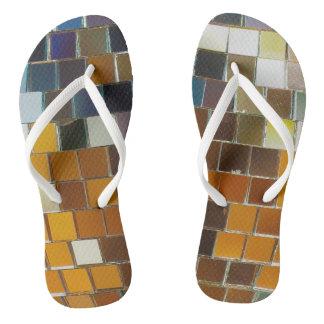 Disco Ball Flip Flops! Flip Flops