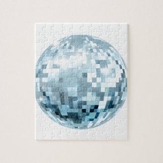 Disco Ball Illustration Jigsaw Puzzle