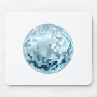 Disco Ball Illustration Mouse Pad