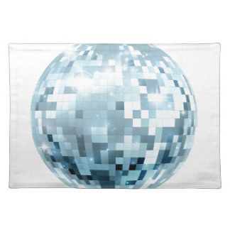 Disco Ball Illustration Placemat