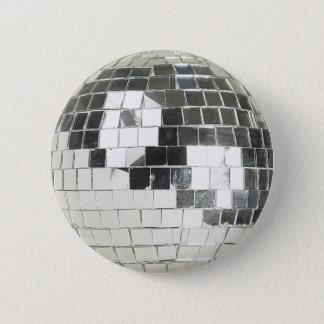 disco ball photo 2 inch round button