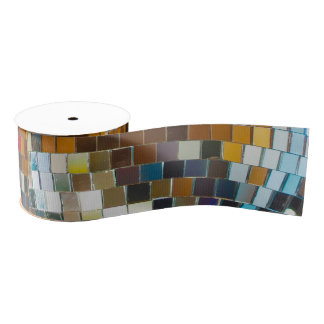 Disco Ball Ribbon Grosgrain Ribbon