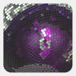 Disco Ball - Square Sticker