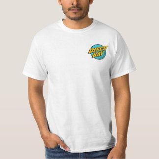 Disco Bay Two-Sided T-Shirt on White