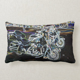 Disco Bikes Lumbar Pillow