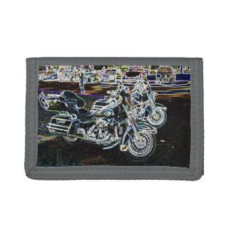 Disco Bikes Trifold Wallet