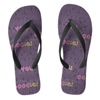 Disco Boogie Seventies Collection Flip Flops