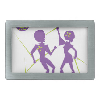 Disco Dance Belt Buckles