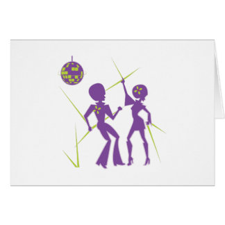 Disco Dance Card