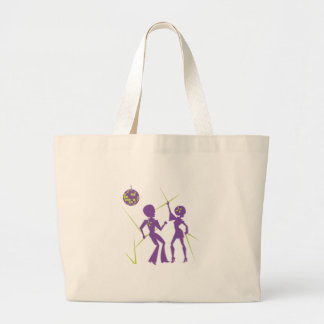 Disco Dance Large Tote Bag