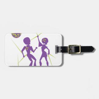 Disco Dance Luggage Tag