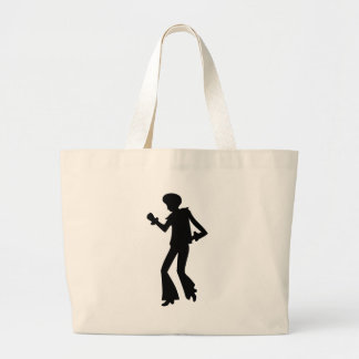 Disco Dancer Large Tote Bag