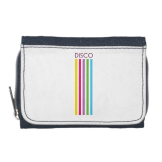 Disco Denim Wallet