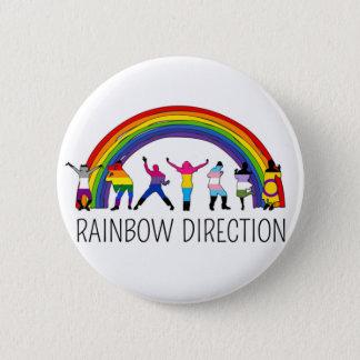 Disco Direction 2 Inch Round Button