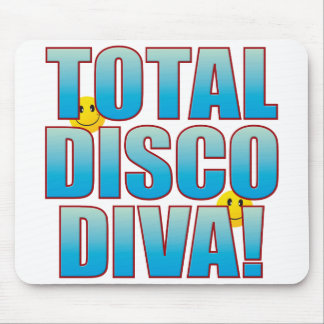 Disco Diva Life B Mouse Pad