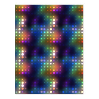 Disco Dots Postcard