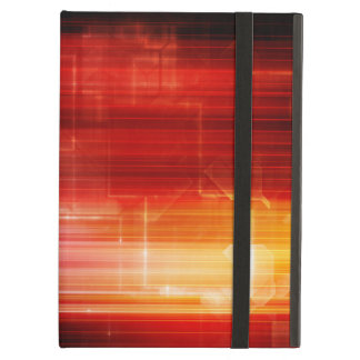 Disco Electronic Music Techno Party Background Art Cover For iPad Air