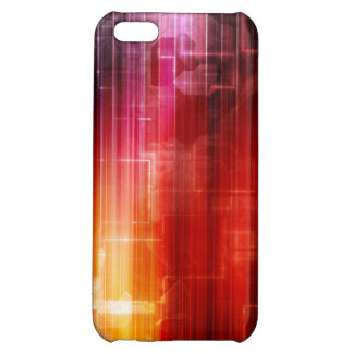 Disco Electronic Music Techno Party Background Art iPhone 5C Case
