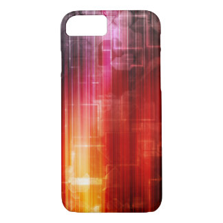 Disco Electronic Music Techno Party Background Art iPhone 7 Case