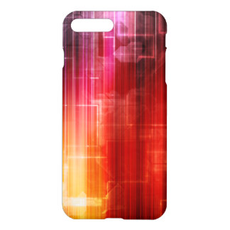 Disco Electronic Music Techno Party Background Art iPhone 7 Plus Case