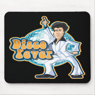 Disco Fever Mousepad