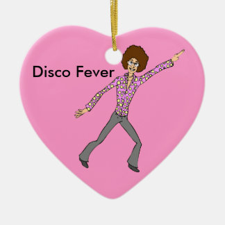 Disco Fever Relive the memories Ceramic Ornament
