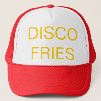 DISCO FRIES Frank Rositano Trucker Hat
