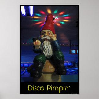Disco Gnome Print