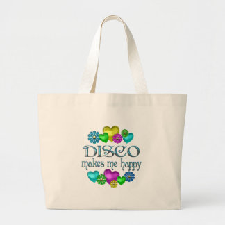 Disco Happiness Large Tote Bag