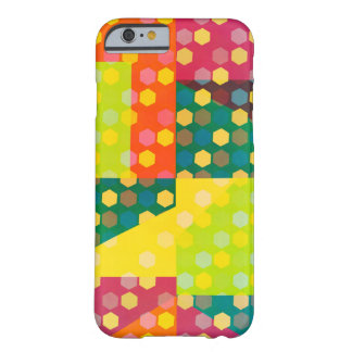 Disco hexagons barely there iPhone 6 case