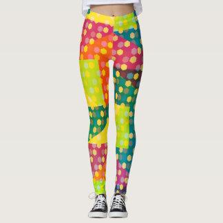 Disco hexagons leggings