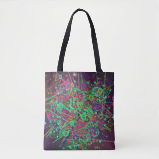 Disco Lighting Tote Bag