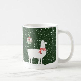 Disco Llama Holiday Merry & Bright 11oz Coffee Mug