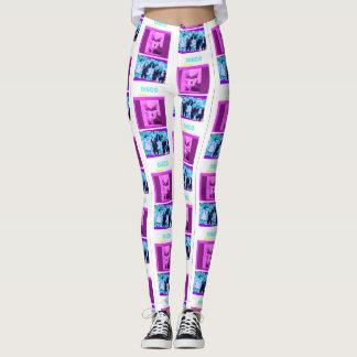 Disco music leggings