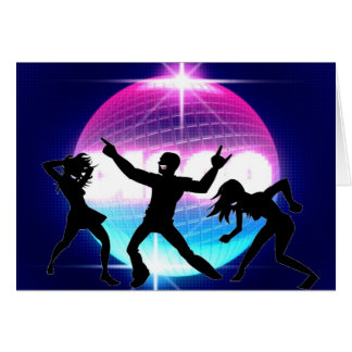Disco Nightclub Card