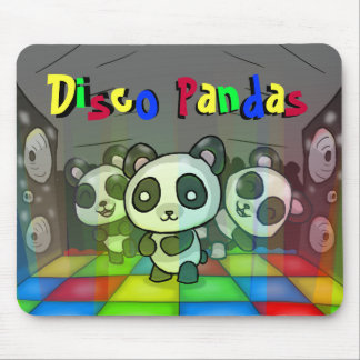 Disco Pandas Mousepad