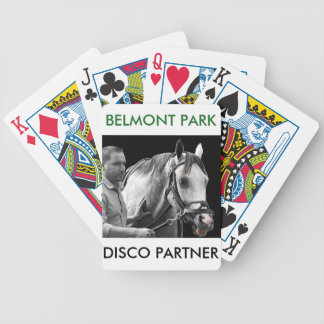 Disco Partner- NY Bred Bicycle Playing Cards