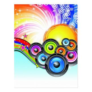 Disco-party-727x1023 Postcard